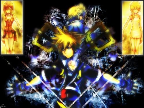 Square Enix, Kingdom Hearts, Kairi, Sora, Roxas Wallpaper
