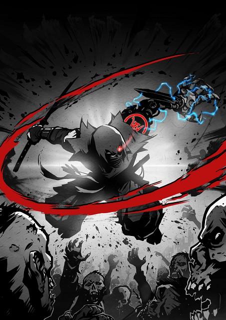 Koei, Tecmo, Yaiba: Ninja Gaiden Z, Yaiba Kamikaze, Official Digital Art