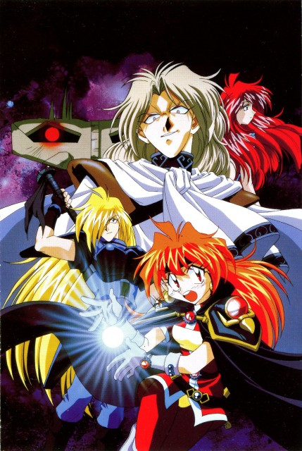 J.C. Staff, Slayers, Gourry Gabriev, Lina Inverse