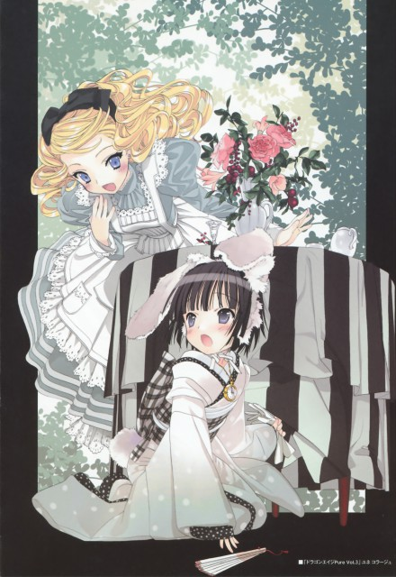 Hinata Takeda, Ikoku Meiro no Croisée, Artworks by Hinata Takeda, Yune, Alice Blanche
