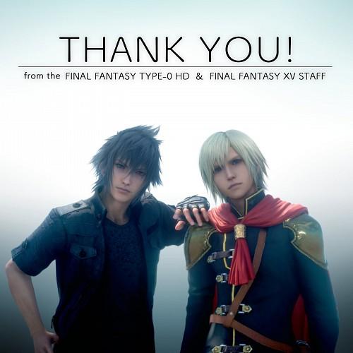 Square Enix, Final Fantasy Type-0, Final Fantasy XV, Ace (Final Fantasy Type-0), Noctis Lucis Caelum