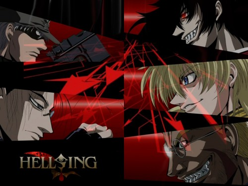 Geneon/Pioneer, Hellsing, The Captain (Hellsing), Alucard, Victoria Seras Wallpaper