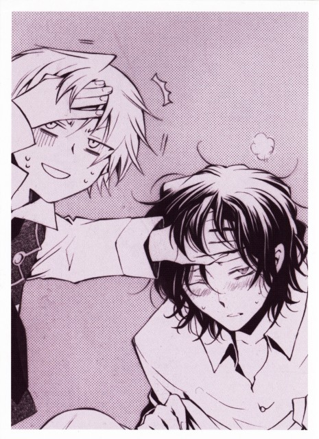 Jun Mochizuki, Pandora Hearts, Oz Vessalius, Gilbert Nightray