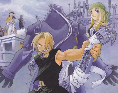 Hiromu Arakawa, Fullmetal Alchemist, Fullmetal Alchemist Artbook Vol. 2, Edward Elric, Lan Fan