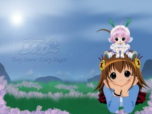 Koge Donbo, A Little Snow Fairy Sugar, Saga Bergman, Sugar (A Little Snow Fairy Sugar) Wallpaper