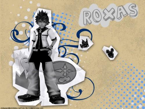 Square Enix, Kingdom Hearts, Roxas Wallpaper