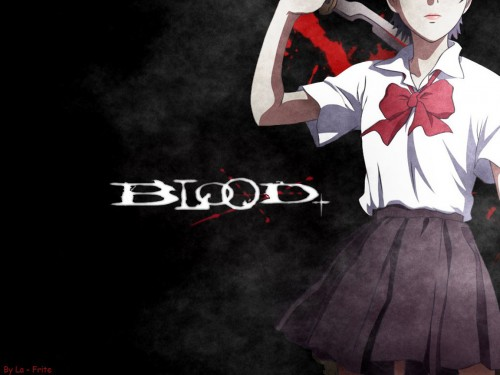 Production I.G, Blood+, Saya Otonashi Wallpaper