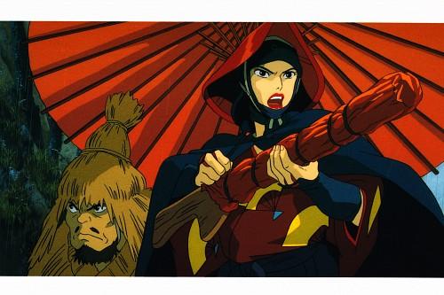 Studio Ghibli, Princess Mononoke, Princess Mononoke Postcard Collection, Lady Eboshi, Postcard