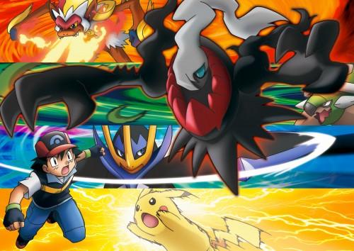 OLM Digital Inc, Nintendo, Pokémon, Torterra, Darkrai
