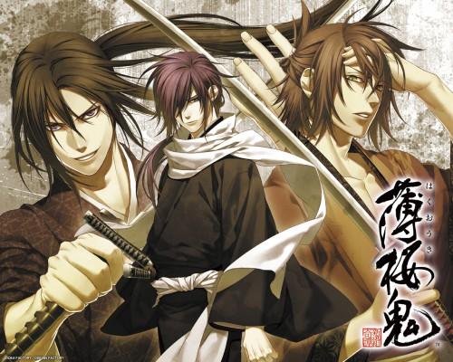Yone Kazuki, Idea Factory, Hakuouki Shinsengumi Kitan, Toshizou Hijikata (Hakuouki), Hajime Saitou (Hakuouki)