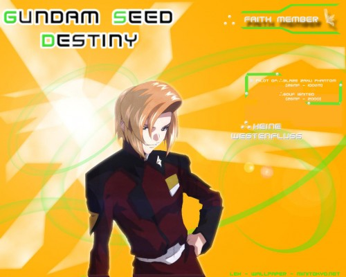 Sunrise (Studio), Mobile Suit Gundam SEED Destiny, Heine Westenfluss Wallpaper