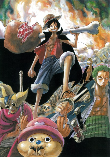 Eiichiro Oda, Toei Animation, One Piece, Color Walk 4 - Eagle, Usopp