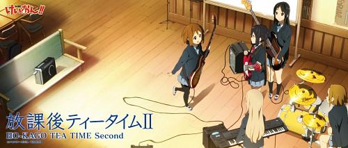 Kakifly, Kyoto Animation, K-On!, Azusa Nakano, Yui Hirasawa