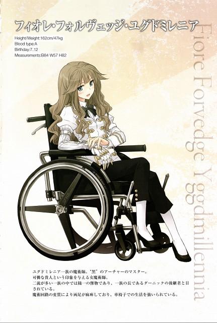 Ototsugu Konoe, TYPE-MOON, Fate/Apocrypha, Fiore Forvedge Yggdmillennia