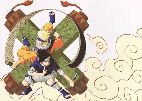 Masashi Kishimoto, Naruto, Uzumaki (Artbook), Sasuke Uchiha, Naruto Uzumaki