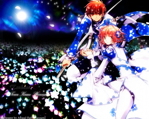 CLAMP, Bee Train, Tsubasa Reservoir Chronicle, Sakura Kinomoto, Syaoran Li Wallpaper