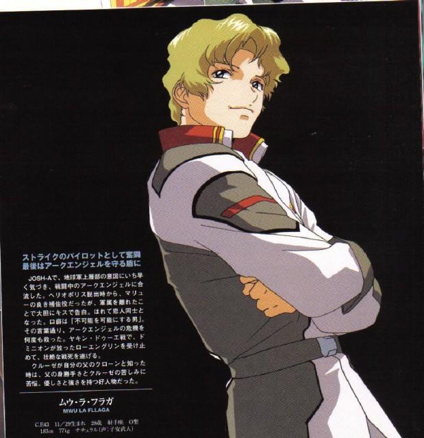 Sunrise (Studio), Mobile Suit Gundam SEED, Mu La Flaga