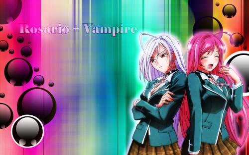 Gonzo, Rosario + Vampire, Moka Akashiya Wallpaper