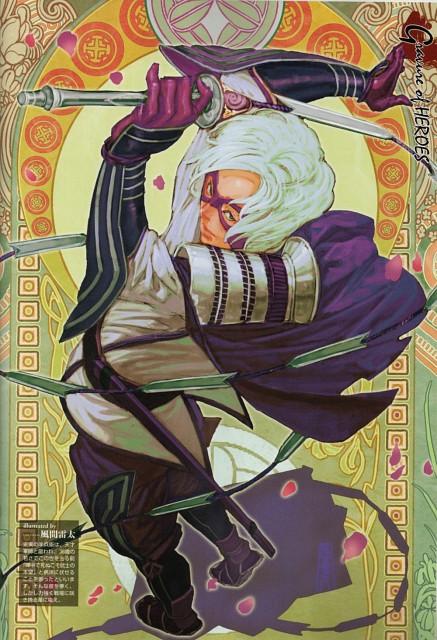 Makoto Tsuchibayashi, Production I.G, Capcom, Sengoku Basara 2 Visual & Sound Book Vol. 1, Sengoku Basara