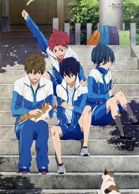 Ayaka Nagahama, Kyoto Animation, Free!, Makoto Tachibana, Haruka Nanase (Free!)