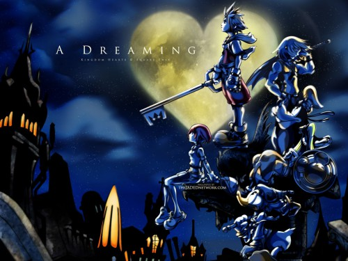 Square Enix, Kingdom Hearts, Donald Duck, Kairi, Sora Wallpaper