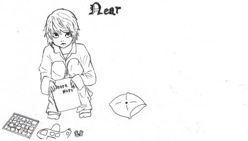 Death Note, Near, Member Art