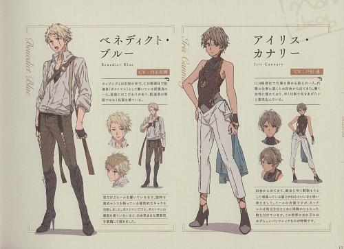 Akiko Takase, Kyoto Animation, Violet Evergarden, Iris Cannary, Benedict Blue