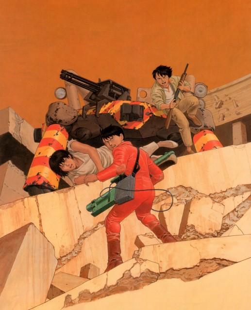 Katsuhiro Otomo, Akira, Akira Club, Shotaro Kaneda, Kei (Akira)