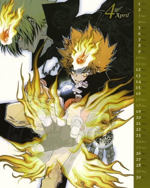 Akira Amano, Artland, Katekyo Hitman Reborn!, Tsunayoshi Sawada, Giotto