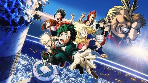 Kouhei Horikoshi, BONES, Boku no Hero Academia, Shouto Todoroki, Eijirou Kirishima