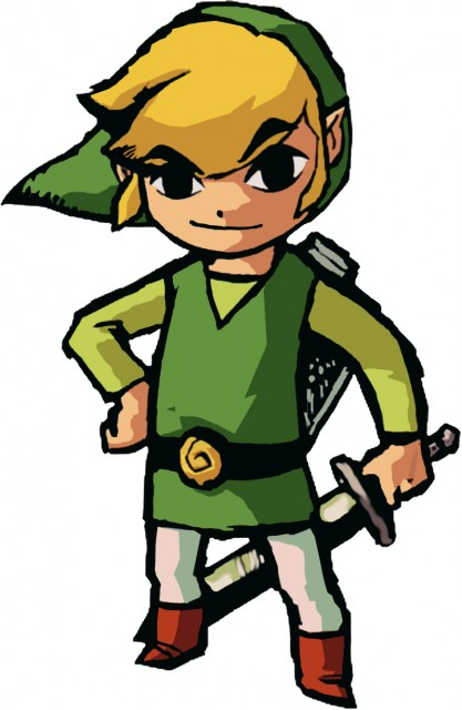 Nintendo, The Legend of Zelda, Link, Vector Art