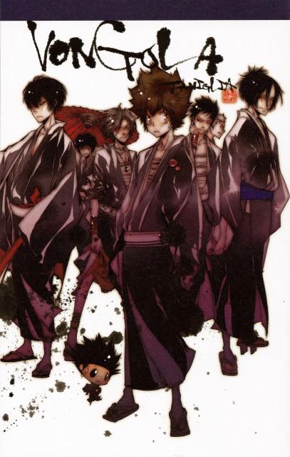 Akira Amano, Katekyo Hitman Reborn!, Colore!, Hayato Gokudera, Mukuro Rokudo