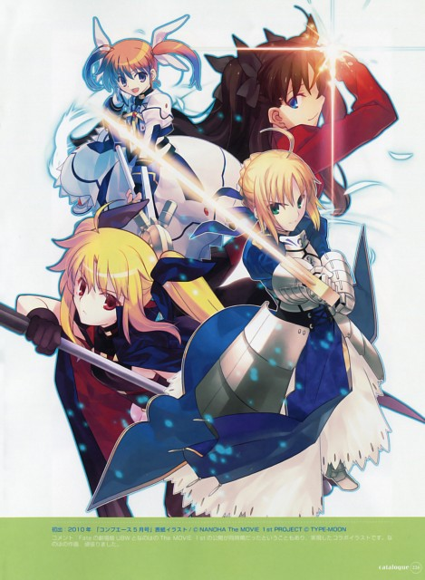 Takashi Takeuchi, TYPE-MOON, Mahou Shoujo Lyrical Nanoha, Catalogue, Fate/stay night