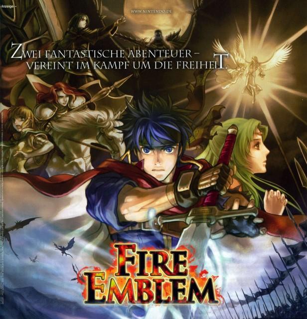 Senri Kita, Fire Emblem, Titania (Fire Emblem), Soren, Ike (Fire Emblem)