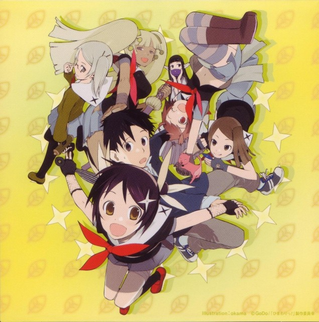 Okama, Himawari!, Hinata Himawari, Yusura, Azami
