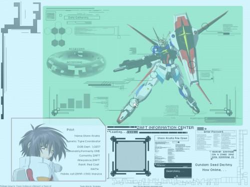 Sunrise (Studio), Mobile Suit Gundam SEED Destiny, Shinn Asuka Wallpaper