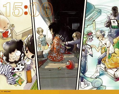 Akira Amano, Artland, elDLIVE, Warashibe Tantei Numashichirou, Katekyo Hitman Reborn!