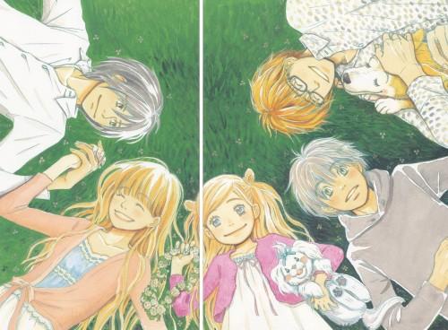 Chika Umino, Honey and Clover, Yuuta Takemoto, Takumi Mayama, Shinobu Morita