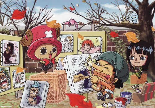 Eiichiro Oda, Toei Animation, One Piece, Usopp, Nico Robin