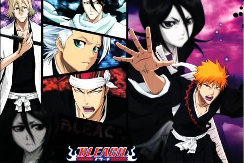 Studio Pierrot, Bleach, Renji Abarai, Rukia Kuchiki, Toshiro Hitsugaya