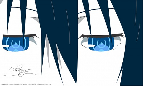 Black Rock Shooter, Vocaloid, Black Rock Shooter (Character), Vector Art