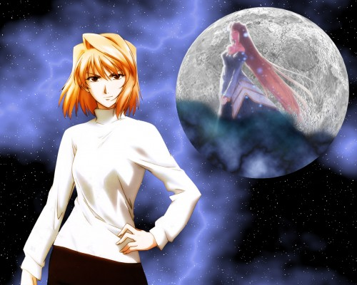 TYPE-MOON, Shingetsutan Tsukihime, Arcueid Brunestud, Archetype Earth Wallpaper