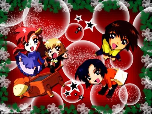 As' Maria, Sunrise (Studio), Mobile Suit Gundam SEED, Athrun Zala, Cagalli Yula Athha Wallpaper