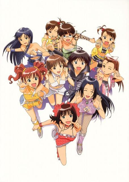 Annindofu, Idol Master, Haruka Amami, Makoto Kikuchi, Yayoi Takatsuki