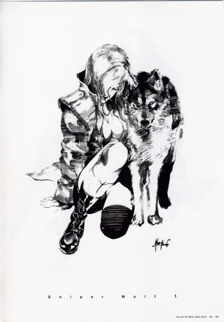 Konami, Metal Gear Solid, Sniper Wolf