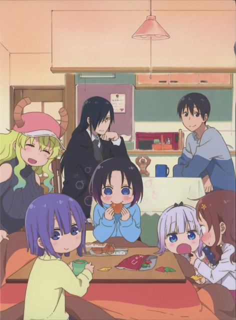 Kyoto Animation, Kobayashi-san Chi no Maid Dragon, Lucoa (Kobayashi-san), Shouta Magatsuchi, Elma (Kobayashi-san)