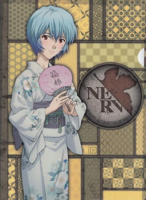Yoshiyuki Sadamoto, Gainax, Neon Genesis Evangelion, Rei Ayanami, Pencil Board