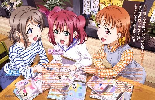 Kouji Nagatomi, Sunrise (Studio), Love Live! Sunshine!!, Ruby Kurosawa, You Watanabe