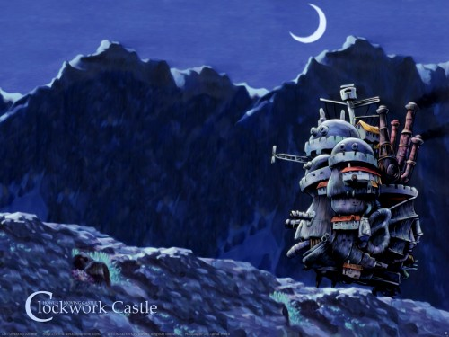 Studio Ghibli, Howl's Moving Castle Wallpaper