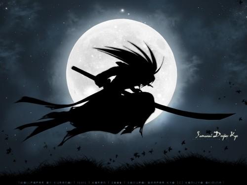 Studio Deen, Samurai Deeper Kyo, Demon Eyes Kyo Wallpaper